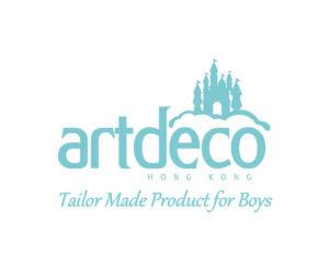 Art Deco Logo - For Boys